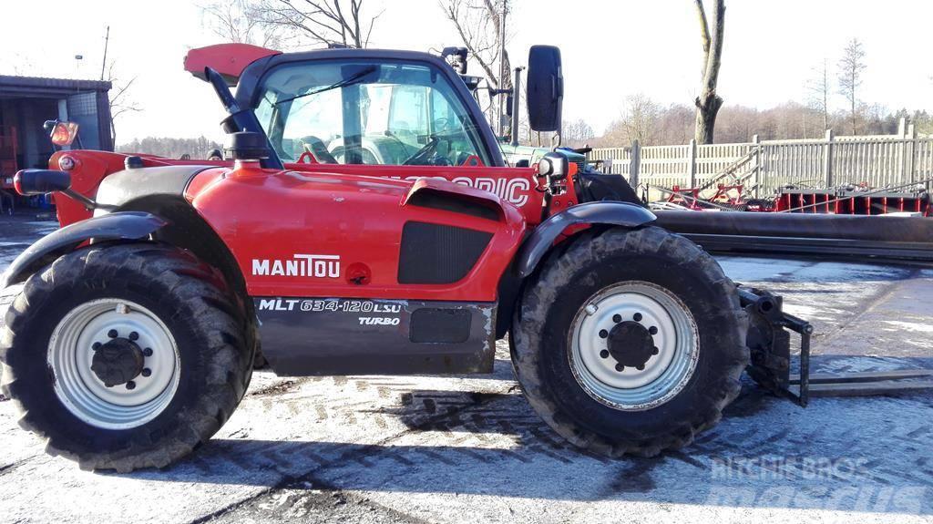 Manitou MLT 634-120 LSU TURBO (735 JCB 531-70 536-60 535)