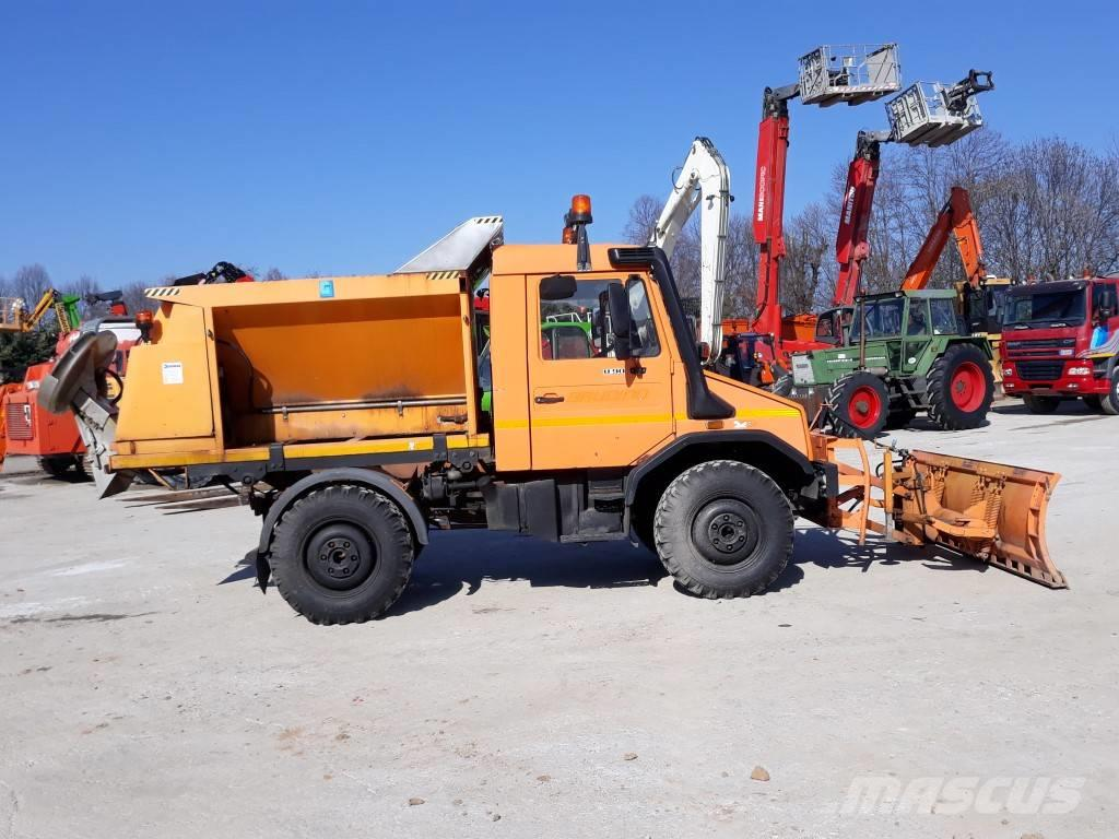 Used Mercedes-Benz UNIMOG U90 snow throwers Year: 1995 for ...