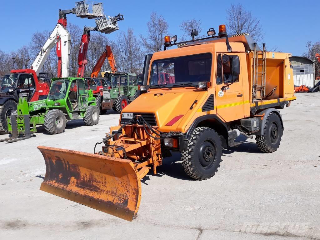 Unimog Dealer Usa >> Used Mercedes-Benz UNIMOG U90 snow throwers Year: 1995 for sale - Mascus USA