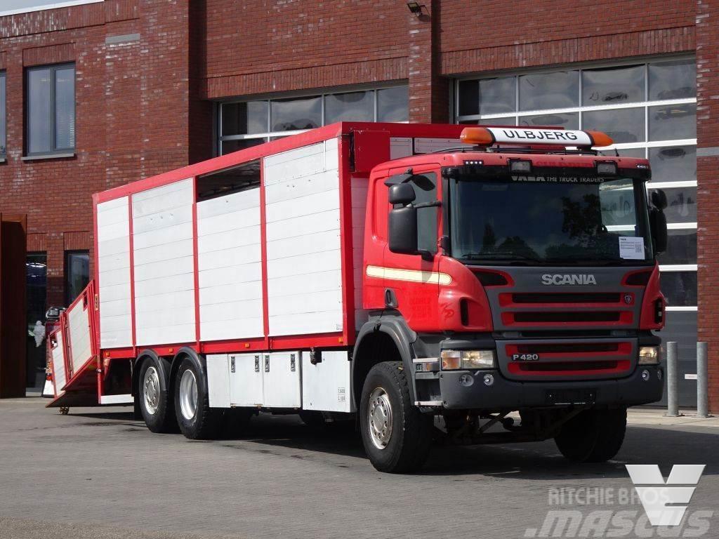 Scania P420 LB6X2*4HNB Livestock