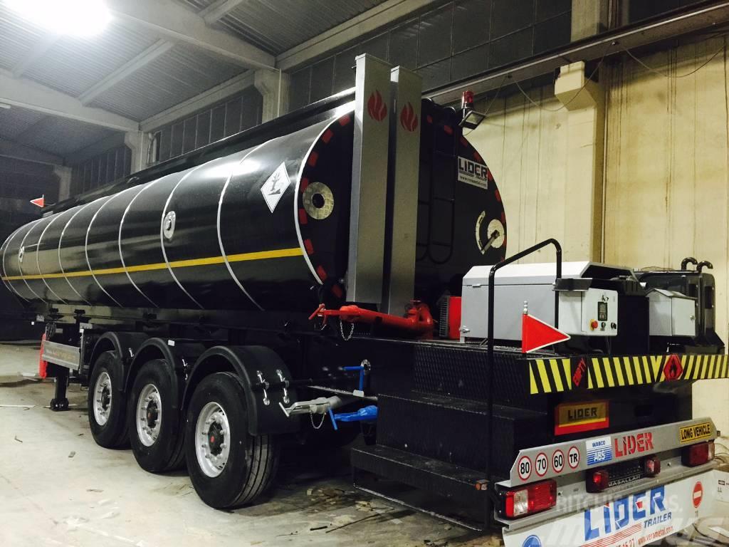 Lider 35m³ bitumen tanker