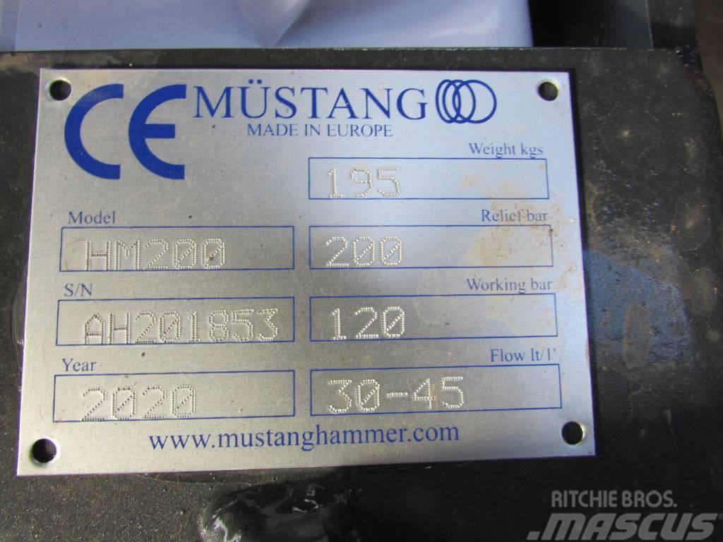 Mustang HM 200 Hydraulikhammer