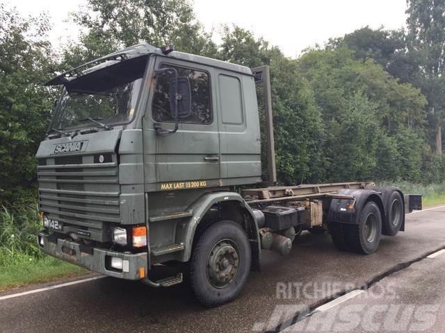 Scania 142 intercooler 6x2
