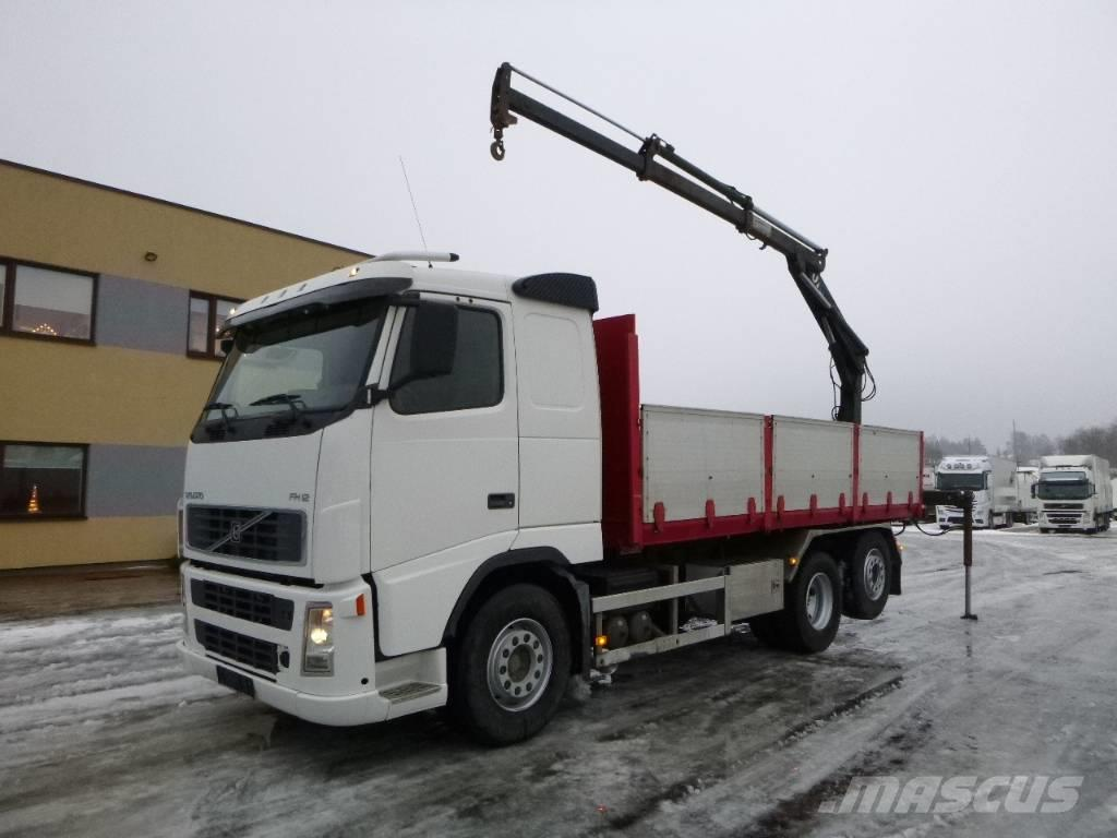 Volvo FH12 6x2+CRANE+TIPPER+MANUAL