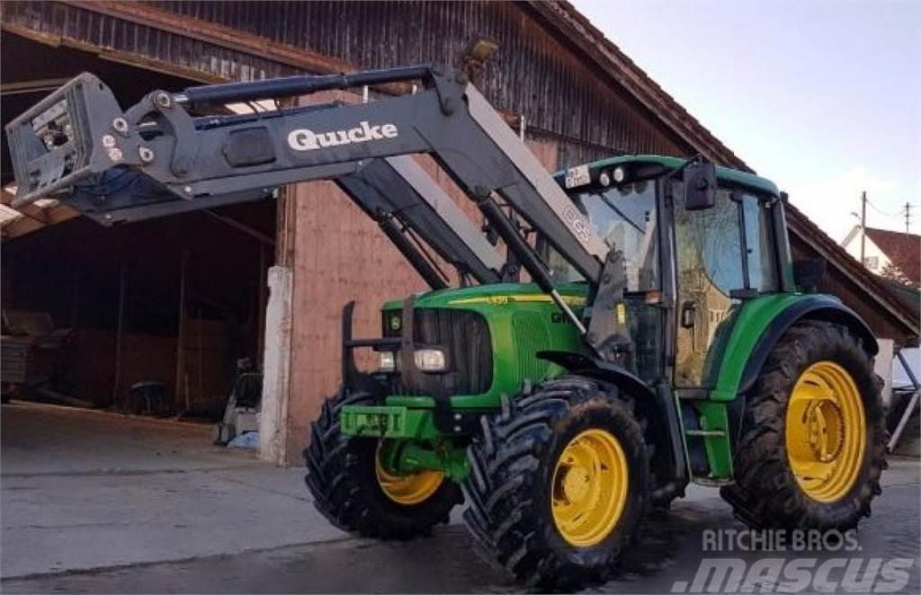 Used John Deere 6420 + Frontlader tractors Year: 2002 Price: $43,920 ...