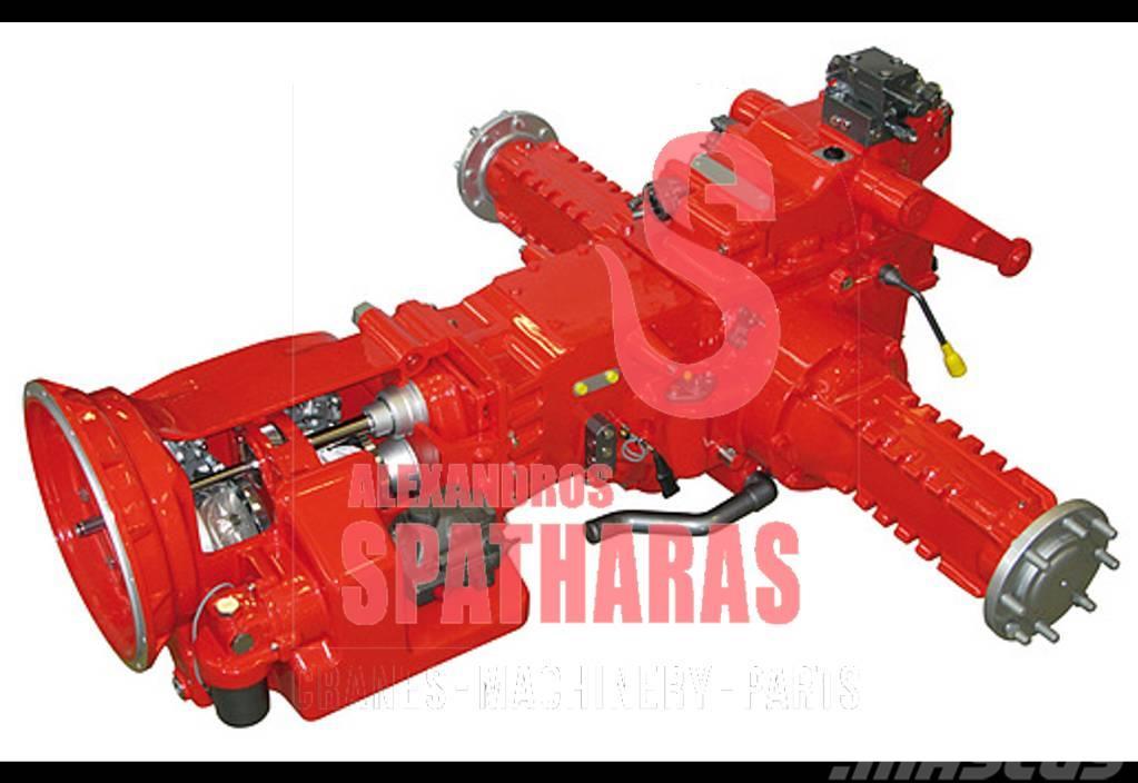 Carraro 261734evaporator assy
