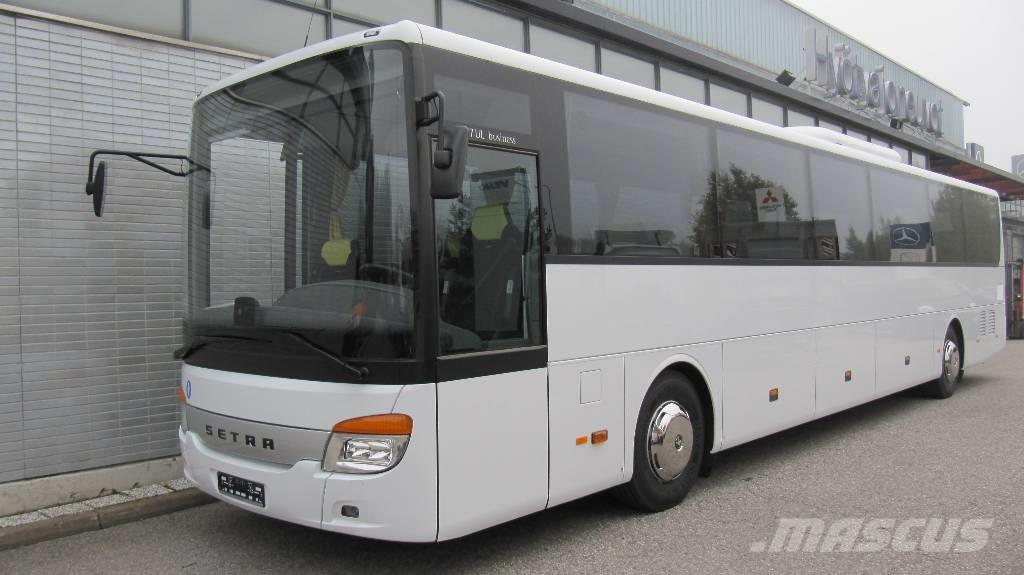 Setra S 417 UL Business_intercity bus Year of Mnftr: 2019