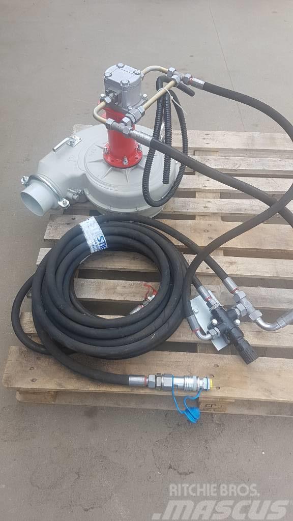 Egyéb hidromotoros hajtású centrifugál ventilátor fordul