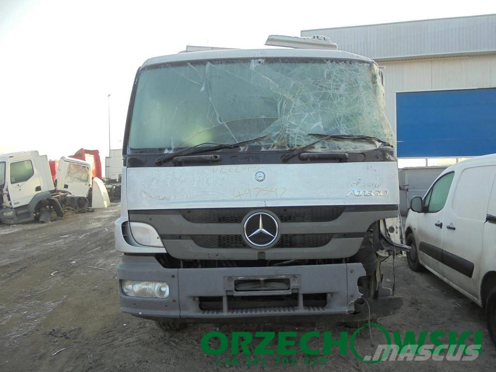 Mercedes-Benz tego 1624 2012 Euro 5 - rama z dokumentacją