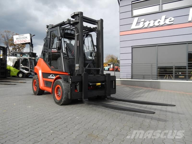 Linde H60T-02 Duplex , Side shift