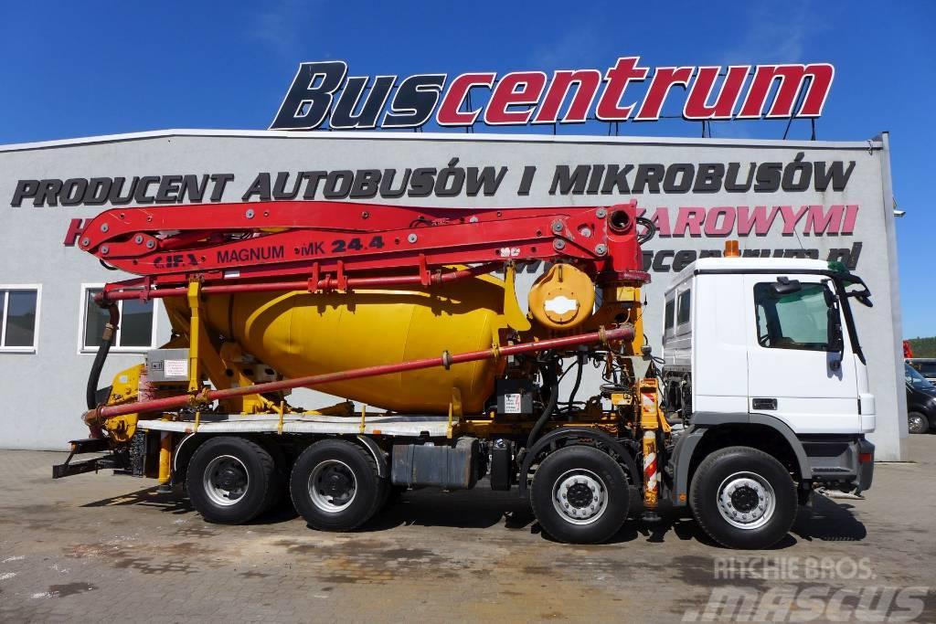 Mercedes-Benz Actros 3244 8x4 Pump CIFA 24m