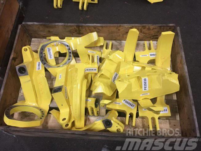 John Deere Timberjack Braços de rolo e Facas de descascar