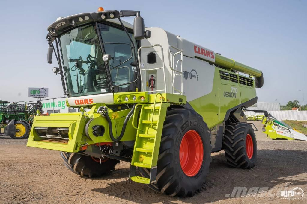 CLAAS Lexion 770 APS 4WD (760/1265 hours)