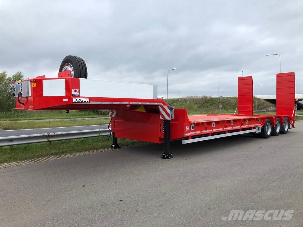 Ozgul 100 Ton HEAVY DUTY lowbed trailer (3 axle with tan