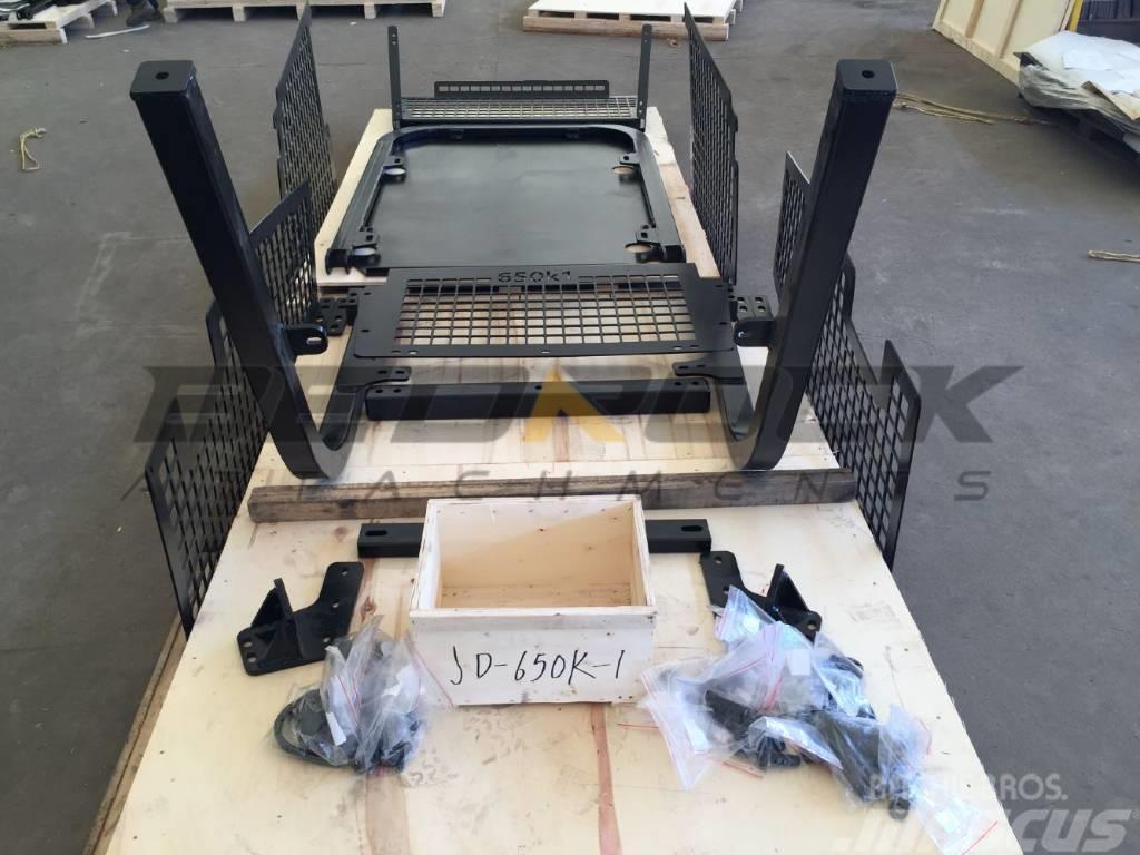 Bedrock Screens and Sweeps fit JD 650K-1