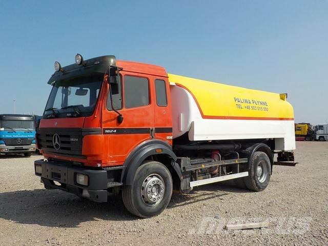 Mercedes-Benz SK 1824 (BIG AXLE / V6 / 12850 L / 2 X COMPARTMENT