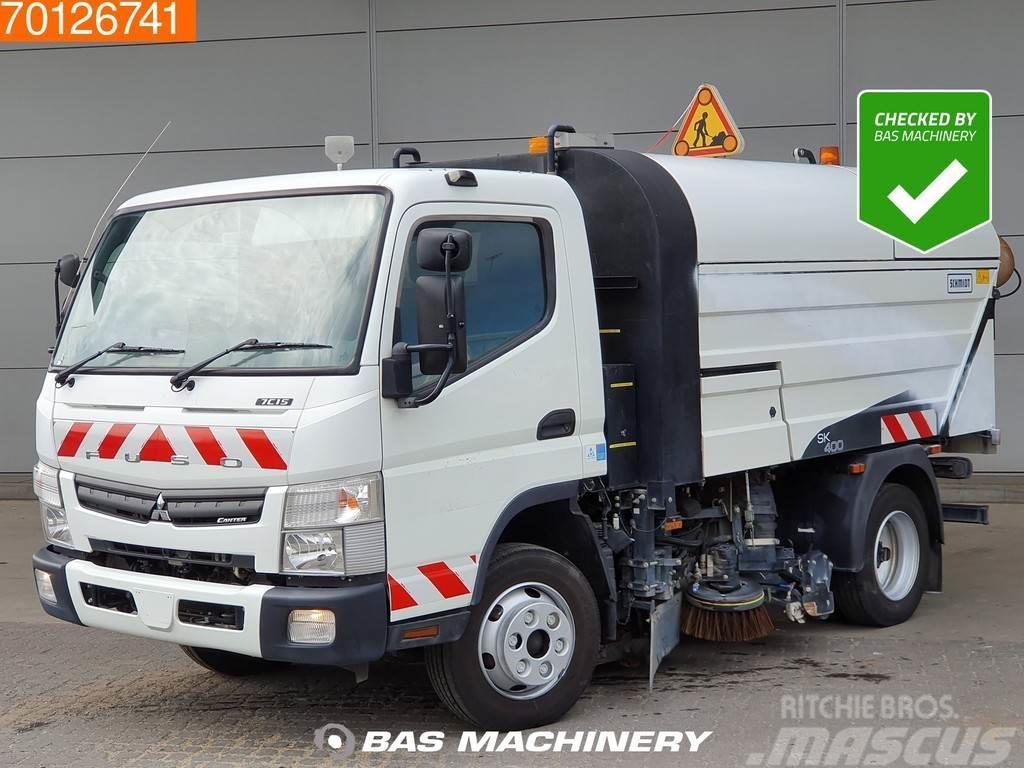 Mitsubishi Fuso Canter 7C15 RHD Sweeper Euro 5