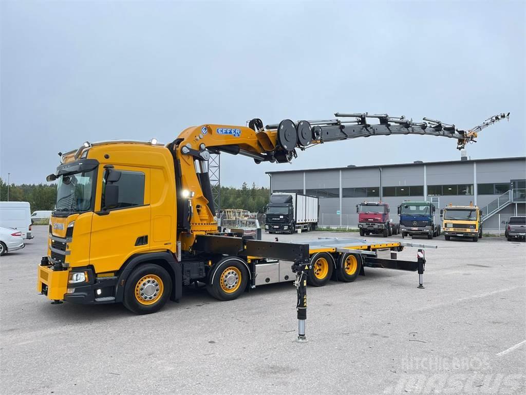 Scania R540 8x2