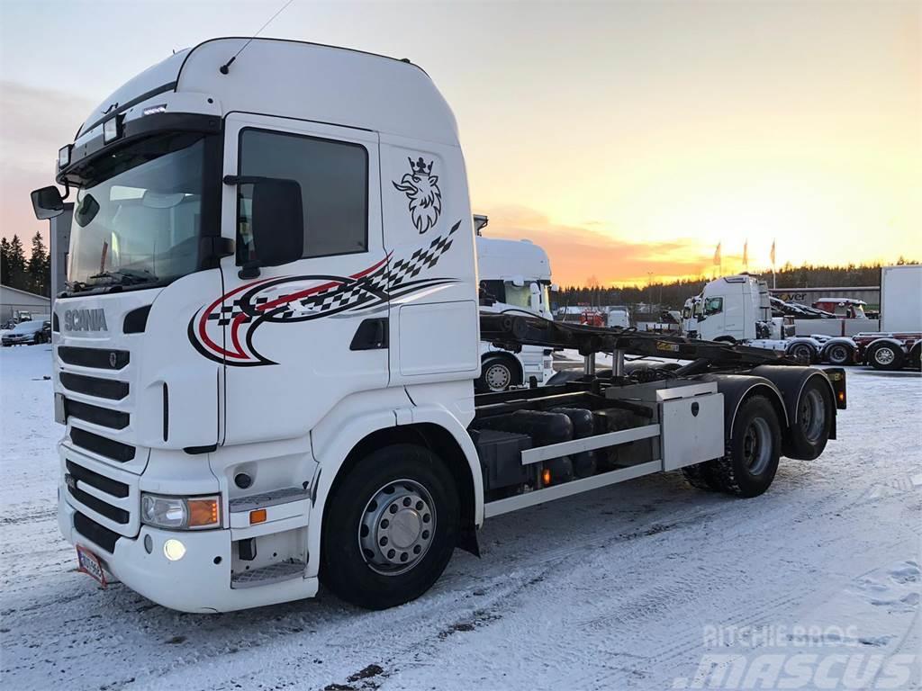 Scania R 480 6X2 Vaijerivaihtolava