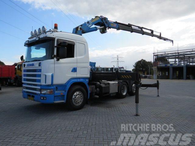 Scania 124 6x2 Hmf 3722 K6