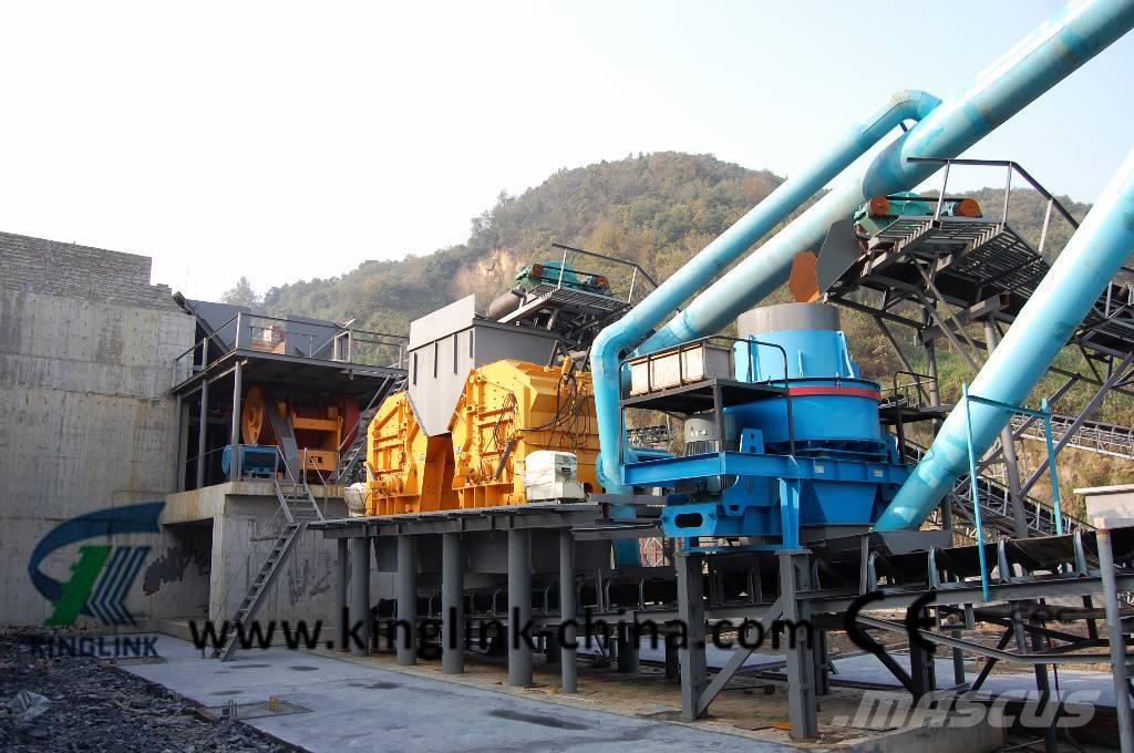 Kinglink 120TPH Stone Crushing /Sand Making Production Line