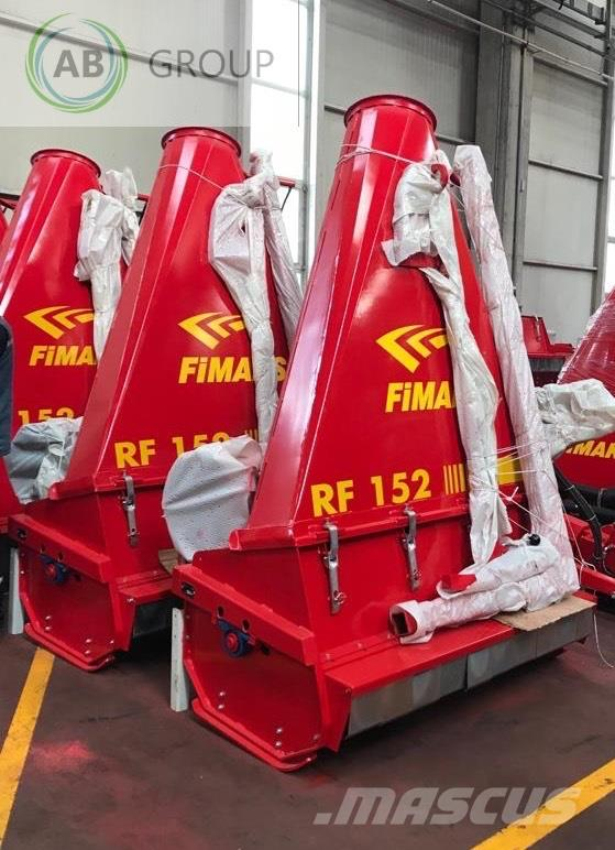 Fimaks Forage harvester  RF 152 /Mädrescher/Ensileuse de