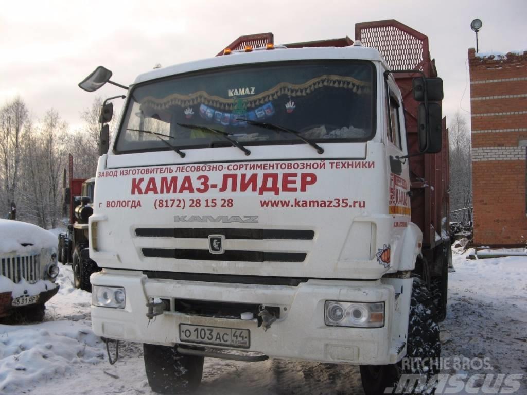 Камаз 43118 с КМУ ПЛ-70-02, 2013, Timmerbilar
