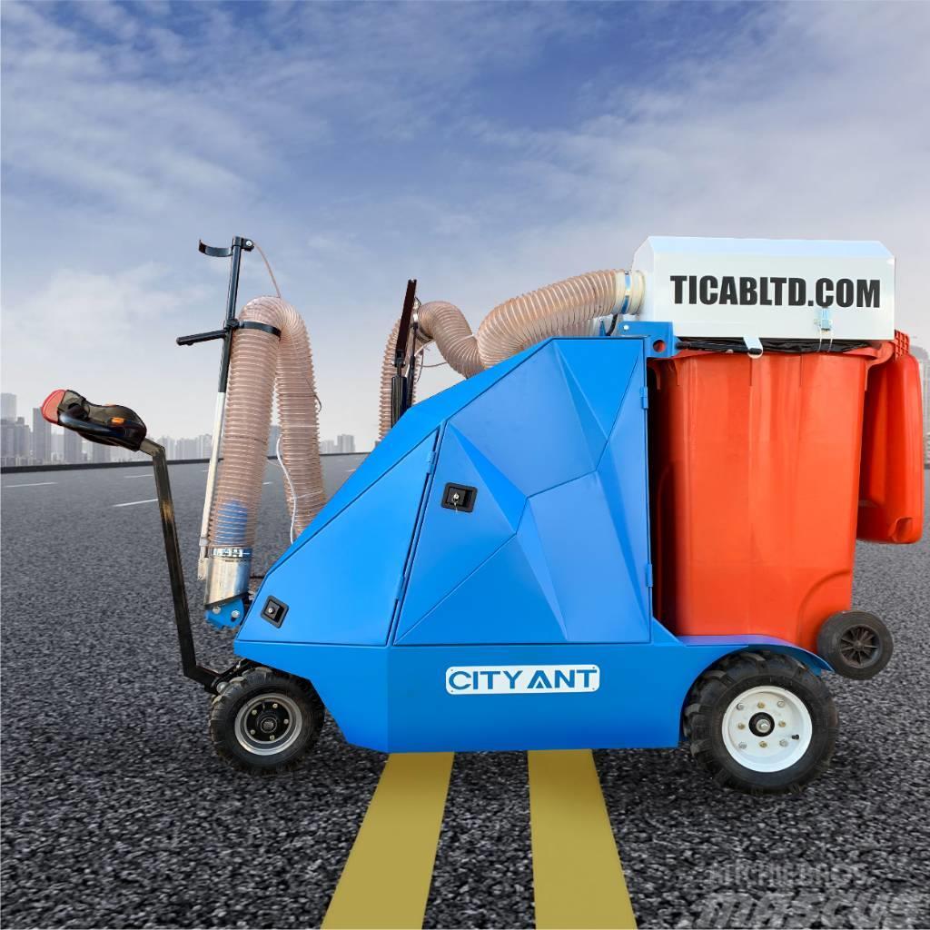TICAB City Ant Electro NEW дорожный пылесос