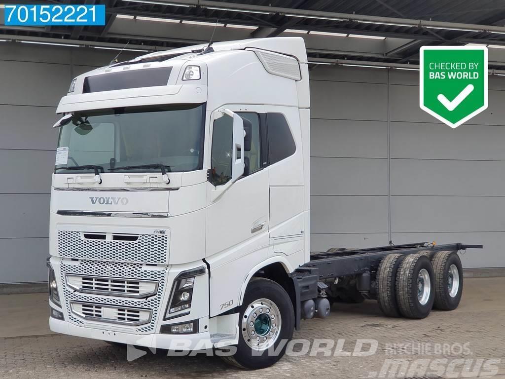 Volvo FH16 750 6X4 Retarder ACC Dynamic Steering Big-Axl