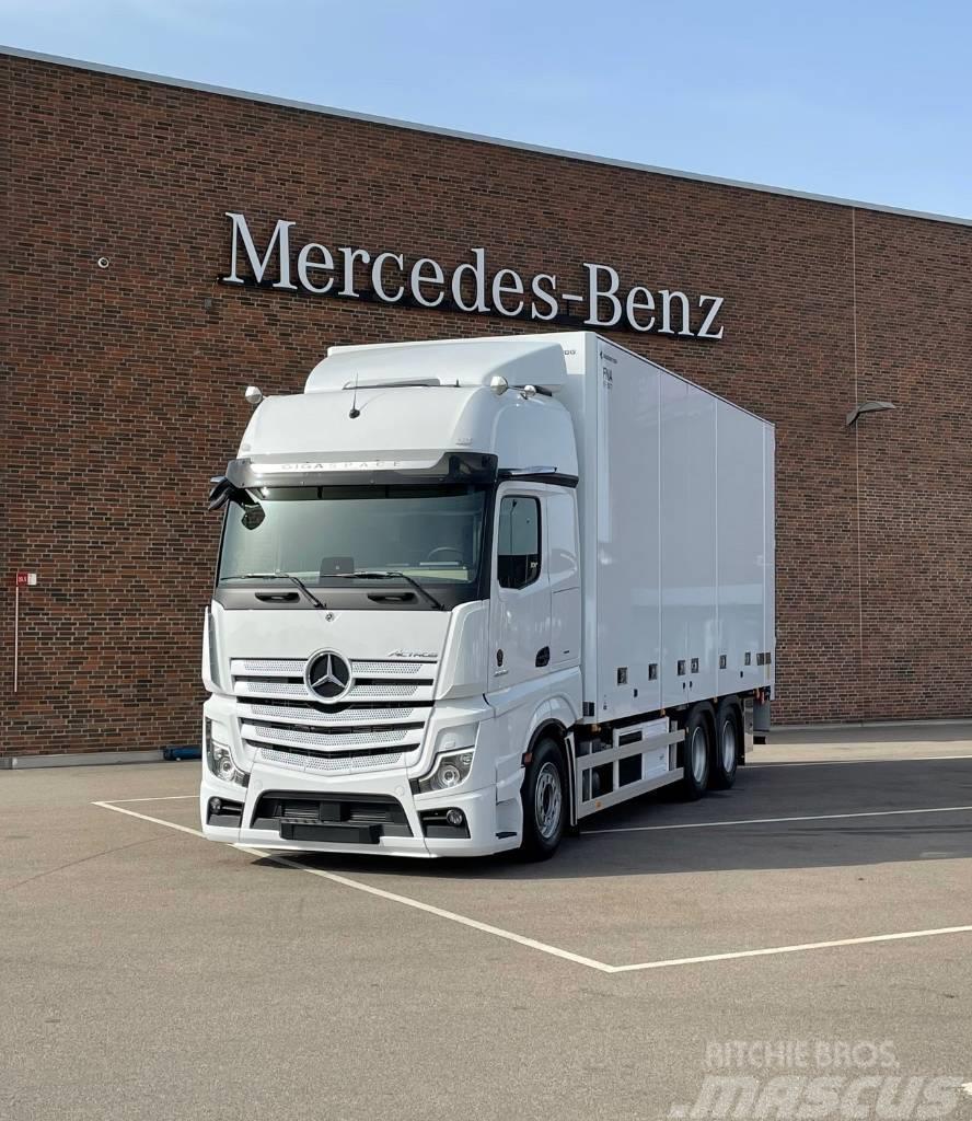 Mercedes-Benz Actros 2853 L 6x2 Bussbygg Multitemp