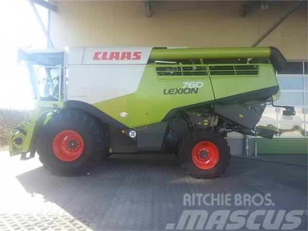 CLAAS Lexion 760 + V770