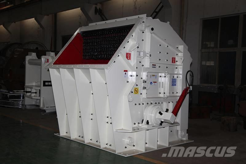 White Lai Stone Crushing Hydraulic Impact Crusher PFC1420
