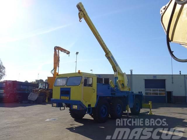 Faun L912/21 6x6 Crane Tow Bar Recovery Truck Good Cond