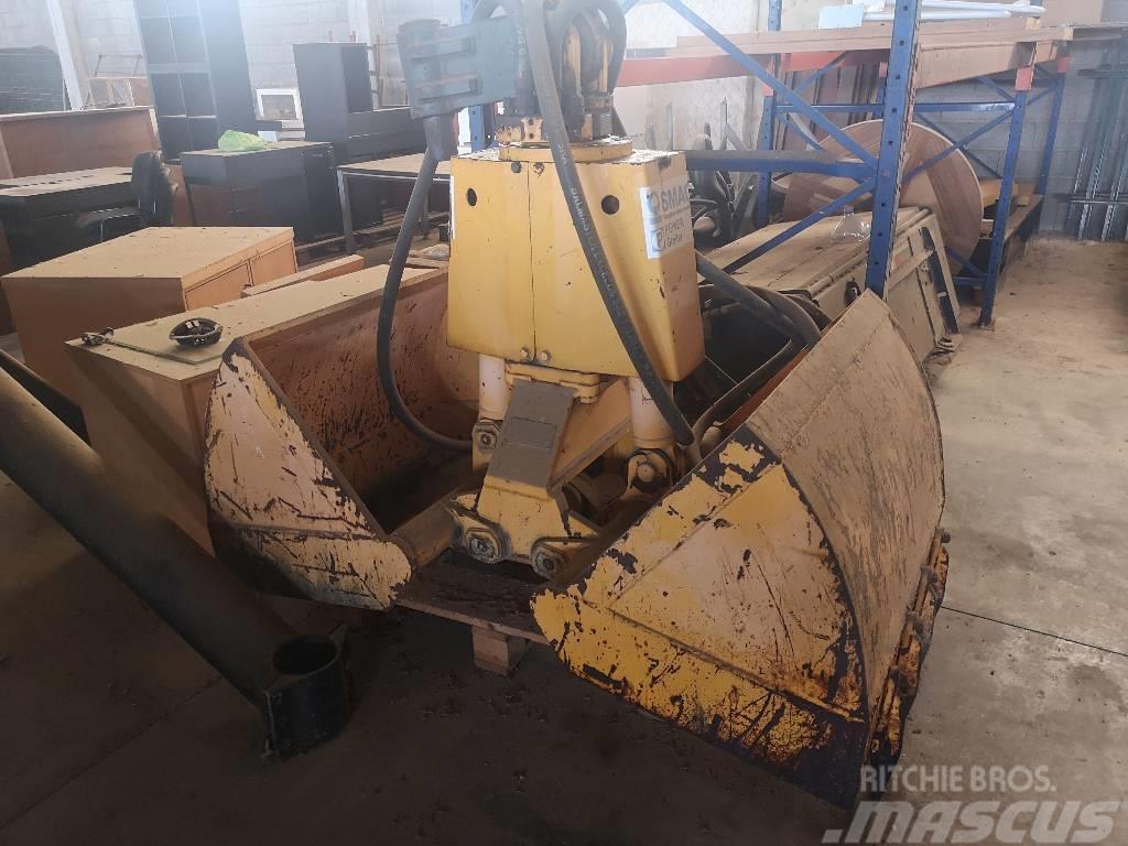 [Other] Balde hidraulico escavadora SMAG Hydraulic Grab