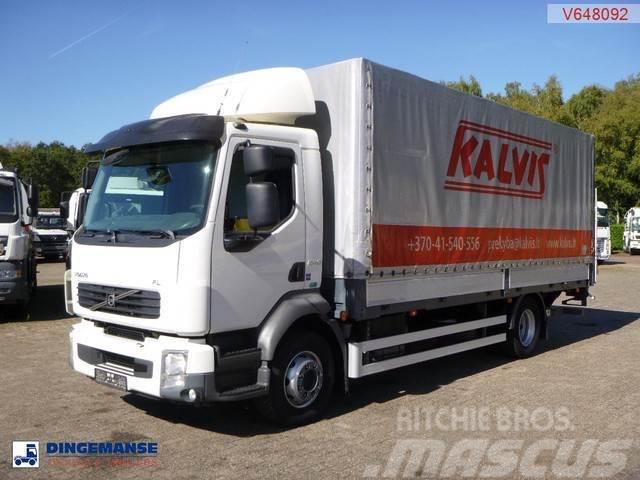 Volvo FL 240 Euro 5 4x2 tilt box + taillift