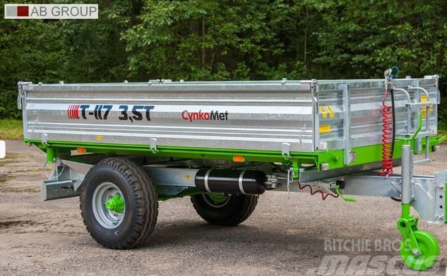[Other] CTNKOMET Farm trailer/ Przyczepa T-117 3,5 T