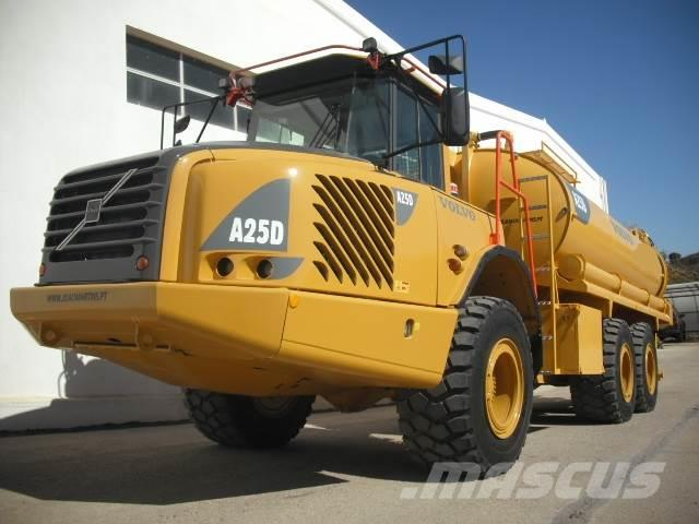 Volvo A25D WITH NEW WATER TANK