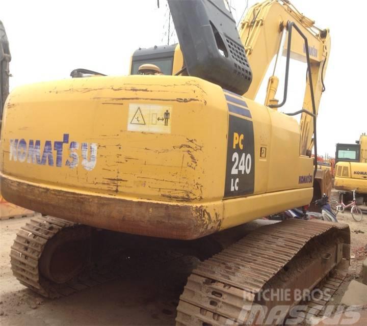 Komatsu used PC240NLC-8