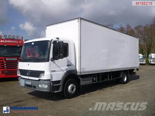 Mercedes-Benz Atego 1318 4x2 closed box + taillift