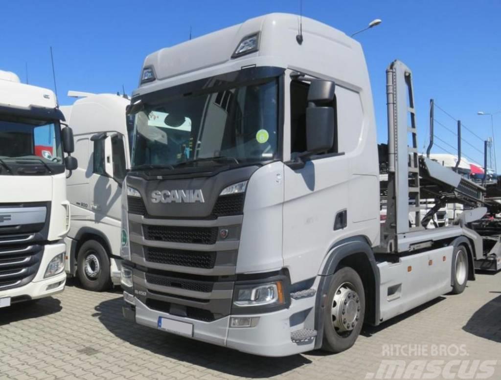 Scania R450 , E6 , 2018 , 29k km + LOHR trailer LIKE NEW