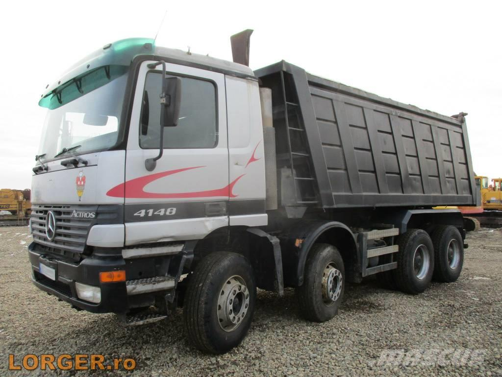 used mercedes benz 4148 dump trucks year 2000 price