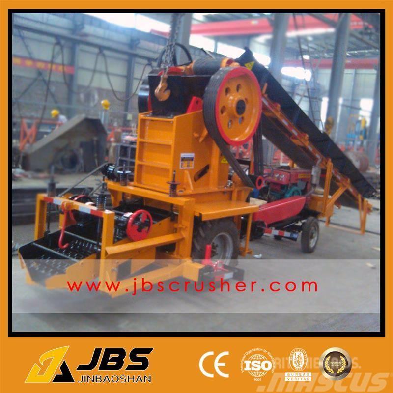 JBS 6-8 TPH MOBILE TRACTOR  STONE CRUSHER