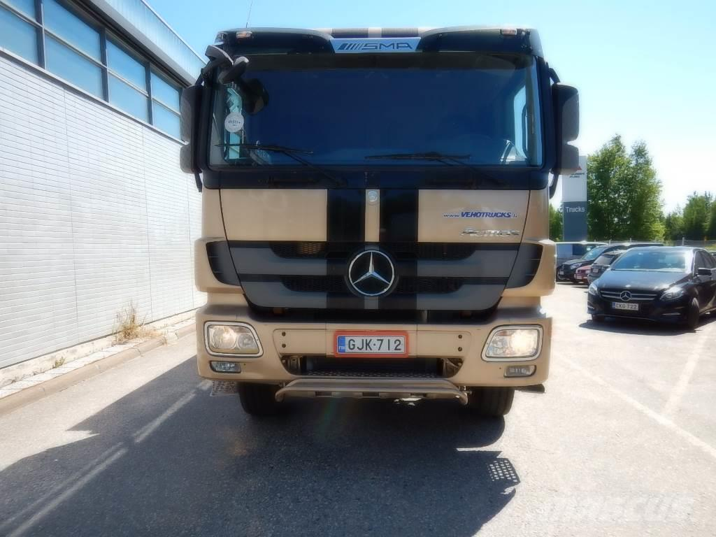 Used mercedes benz actros 4148 dump trucks year 2011 for Used mercedes benz trucks for sale in germany