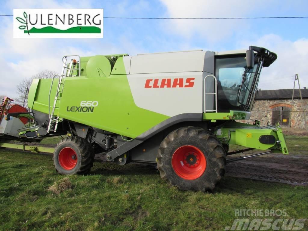 CLAAS Lexion 660 +C750+STÓŁ+w.transportowy
