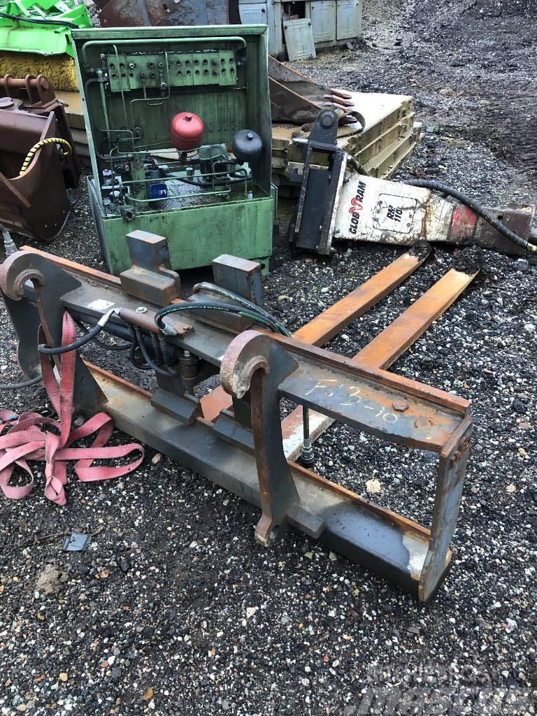 UFO wheel loader Forks Volvo L45/L120