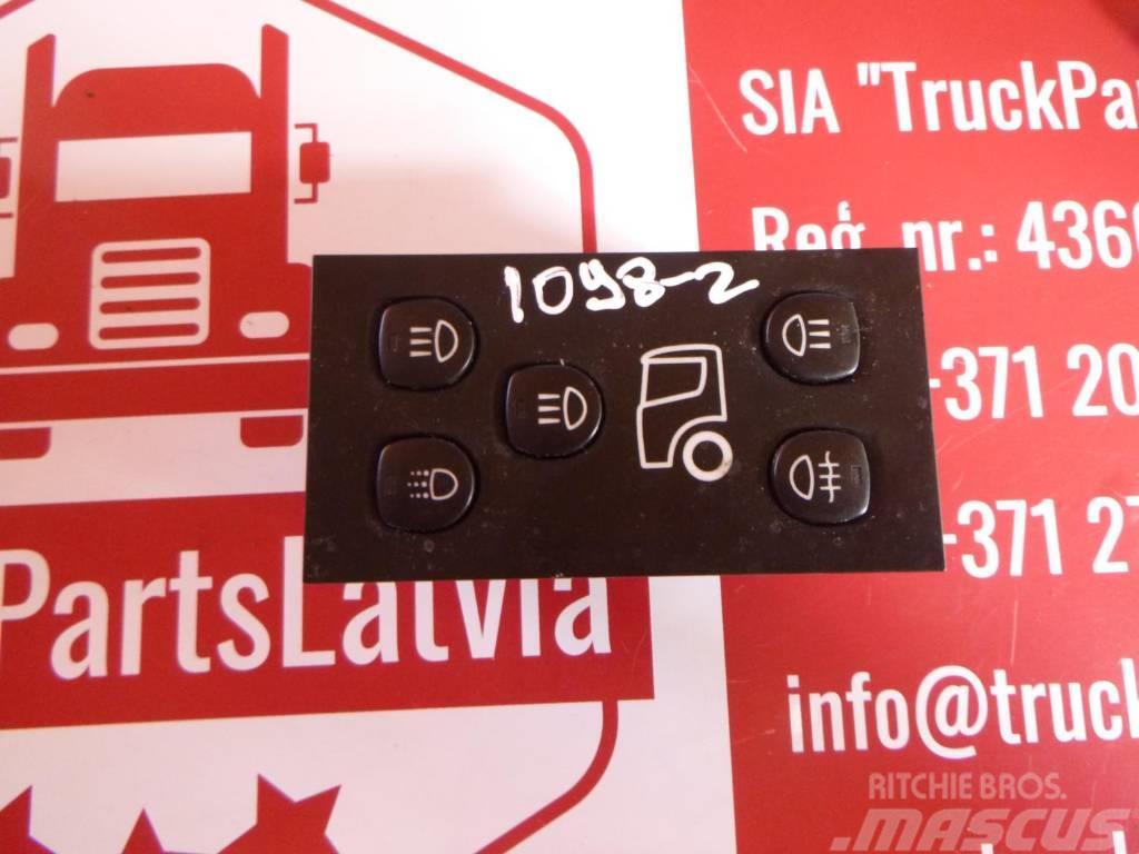 Scania R 440 Headlight switch 1900318
