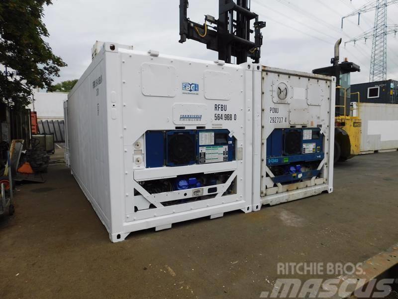 Carrier 20' Fuß Kühlcontainer VERMIETUNG / MIETE