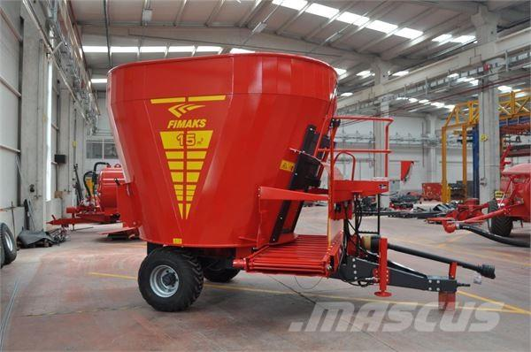 Fimaks FUTTERMISCHWAGEN 15M3 FMV 15 F/ FEEDING MIX, 2017, Mixer feeders