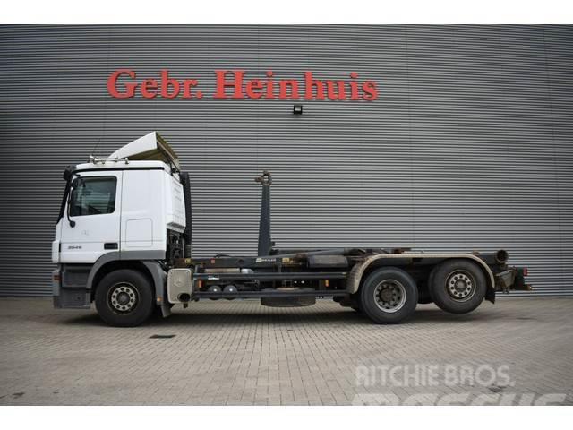 Mercedes-Benz Actros 2546 6x2 Meiller 20 Tons Hooklift!