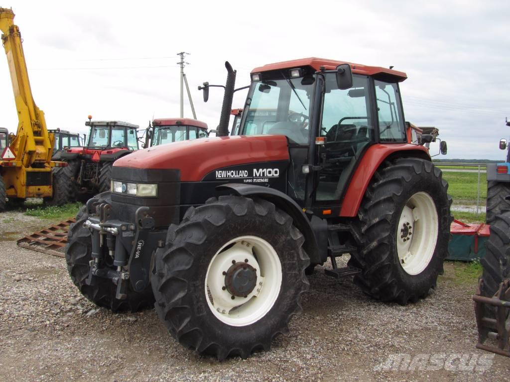 Used New Holland M 100 tractors Year: 1998 Price: $18,606 ...